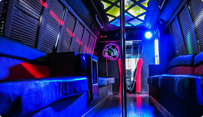 Party LIMO BUS in DC