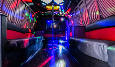 DC Limo Party Bus