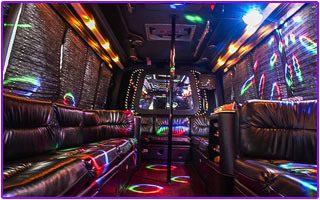 large capacity party bus