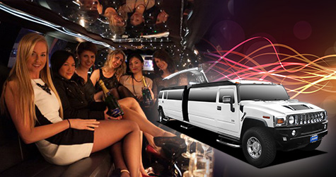 Quinceanera DC Party Bus