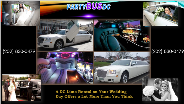A Dc Limo Rental On Your Wedding Day Offers A Lot More