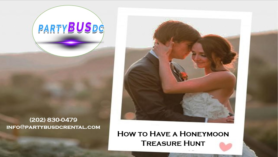 Fun and Exciting After Wedding Traveling Treasure Hunt