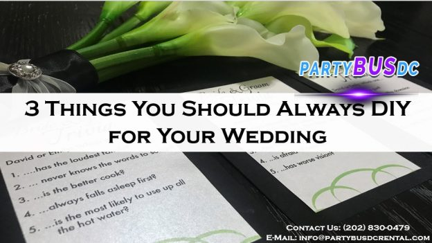 3 Wedding Essentials Not to Leave Up to Others