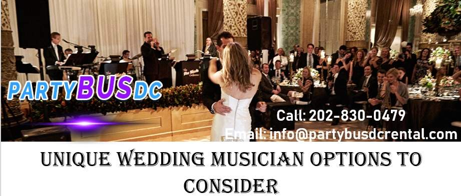 Unique Music for Your One of a Kind Wedding