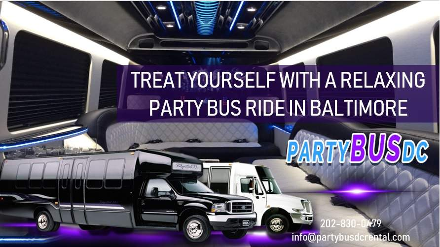 Party Bus Rental Baltimore
