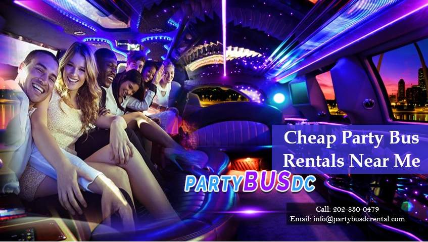 Cheap Party Bus Rentals Near Me