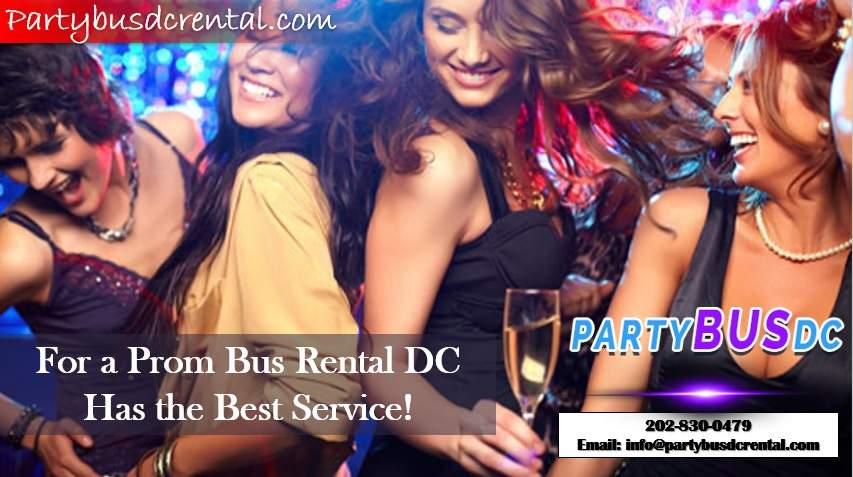 Prom Bus Rental DC