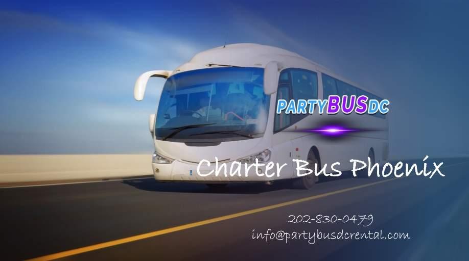 Charter Bus Rental Phoenix